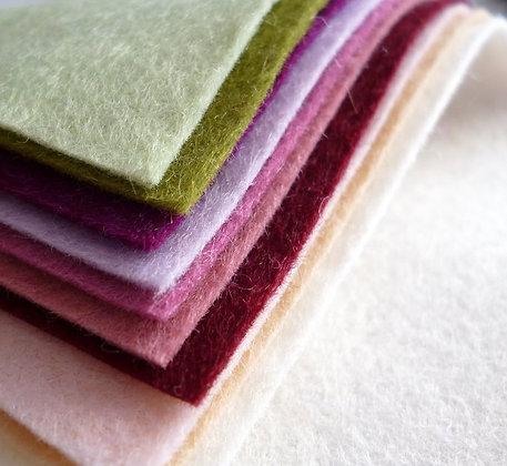 MUTED Premium Wool Felt Colour Pack