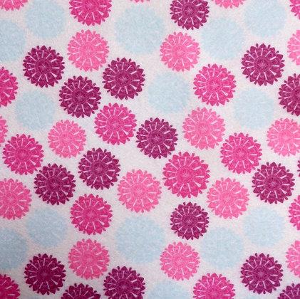 Soft Printed Felt :: Hydrangea