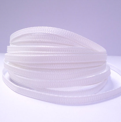 3mm Mini Grosgrain Ribbon (5 metres) :: White (29)