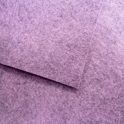 Wisteria - Heathered Felt - cut from the roll