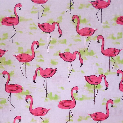 Fabric :: Flamingo Flock