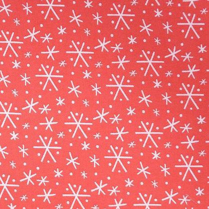 Fabric :: Snowlandia Blizzard :: Red