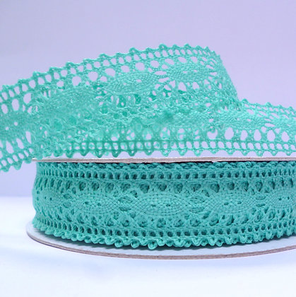 Crochet Lace :: Sea Green