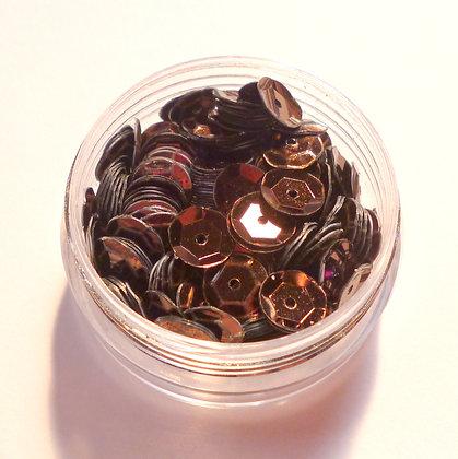 7mm Sequins :: Dark Brown
