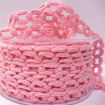 French Knit Chain :: Pale Pink