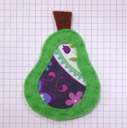 Paisley :: Pear :: Handmade Embellishment