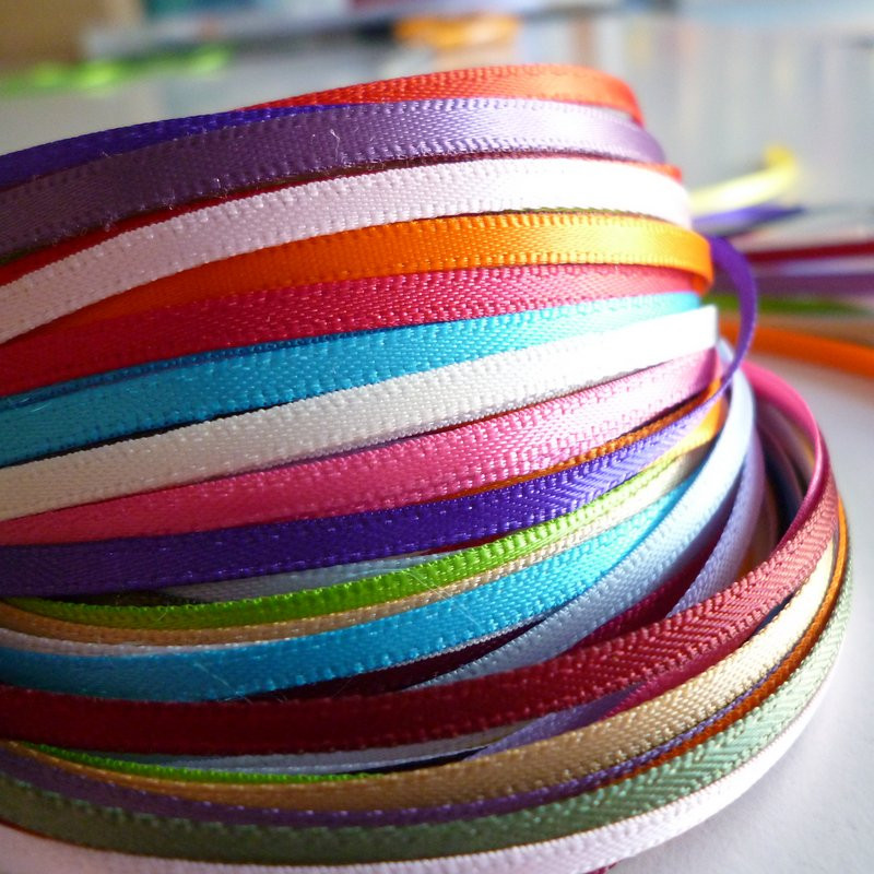 solid ribbon