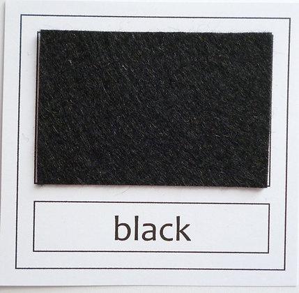 """Die Cut Pack :: 1"""" circles :: Black"""