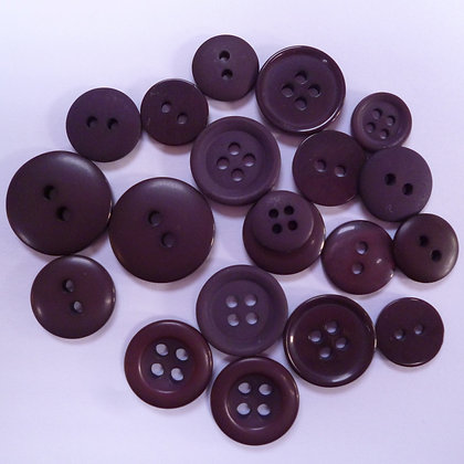 Dyed Pick & Mix Buttons :: Bournville