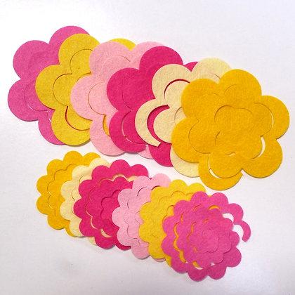 Die Cut Packs :: 3D Roses :: Rhubarb & Custard