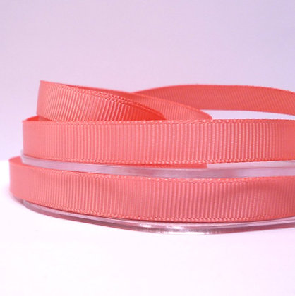 10mm grosgrain :: by the metre :: Coral