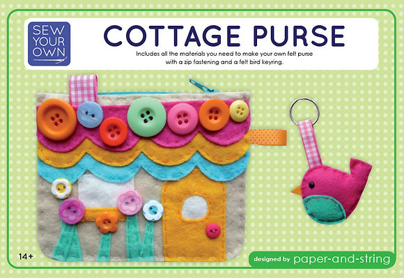 Cottage Purse Medium Kit