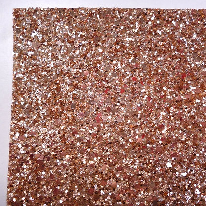Medium Glitter sheet :: Golds :: Mid Gold