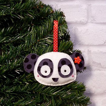 Panda :: Traditional Christmas :: made to order