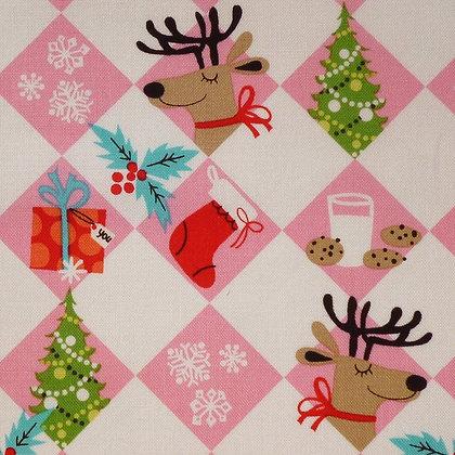 Fabric :: Holiday Christmas :: Tinsel Trees