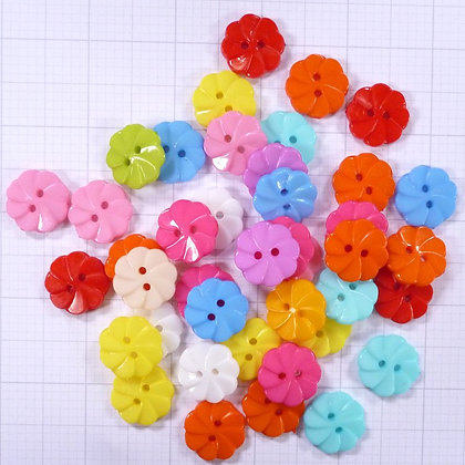 Mixed Button Bags :: Large Iced Gem