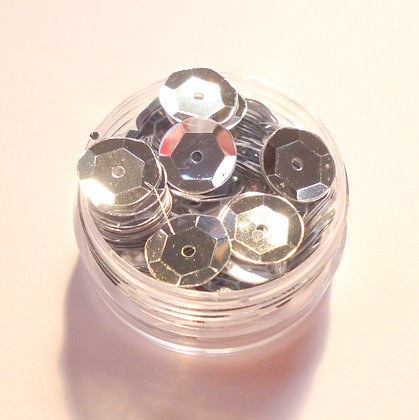 10mm Sequins :: Silver