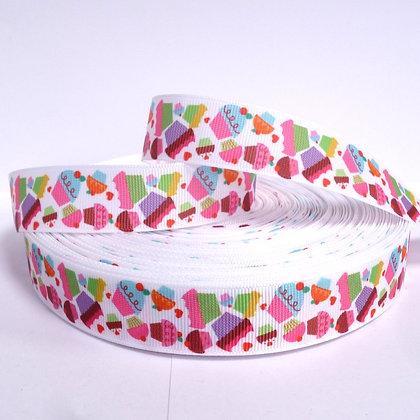Cute Grosgrain Ribbon :: Cupcakes
