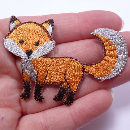 Embroidered Motif :: Shaped Fox