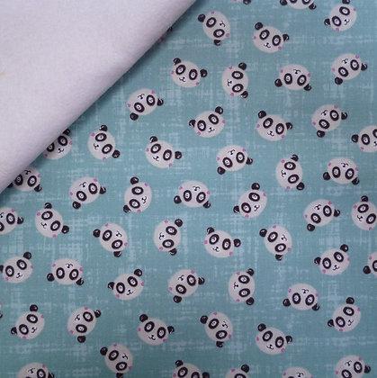 Fabric Felt :: Panda Park :: Mini Panda on White
