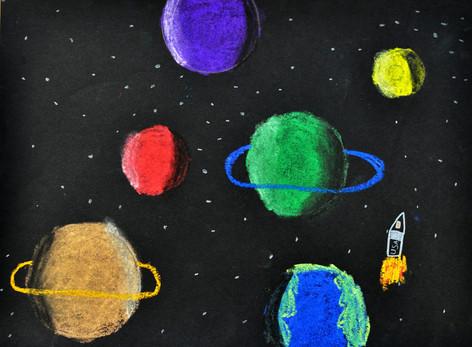 1st Grade - Chalk Pastel