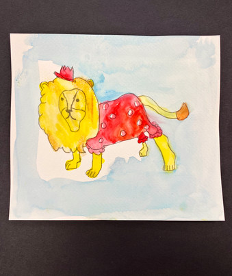 2nd Grade Watercolor Painting