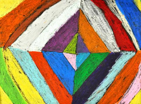 Kindergarten - Oil Pastels