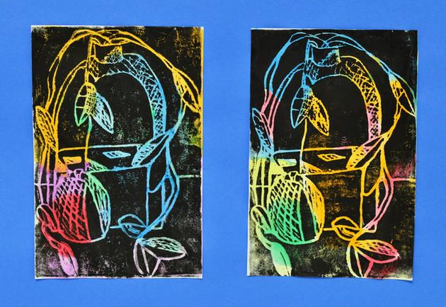 5th Grade - Printmaking