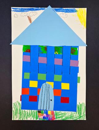 1st Grade Paper Weaving