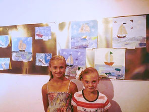 Sandy's Art Studio Kids Art Show, Painting, Sculpture, Drawing, Collage, Pastels, Watercolors, Origami, Mixed Media