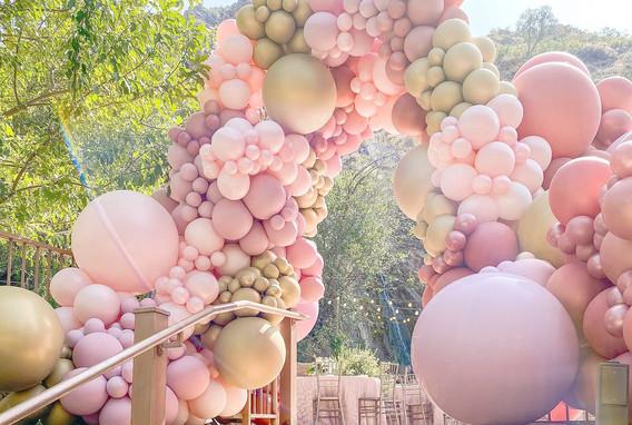 Balloon Enterance Archway