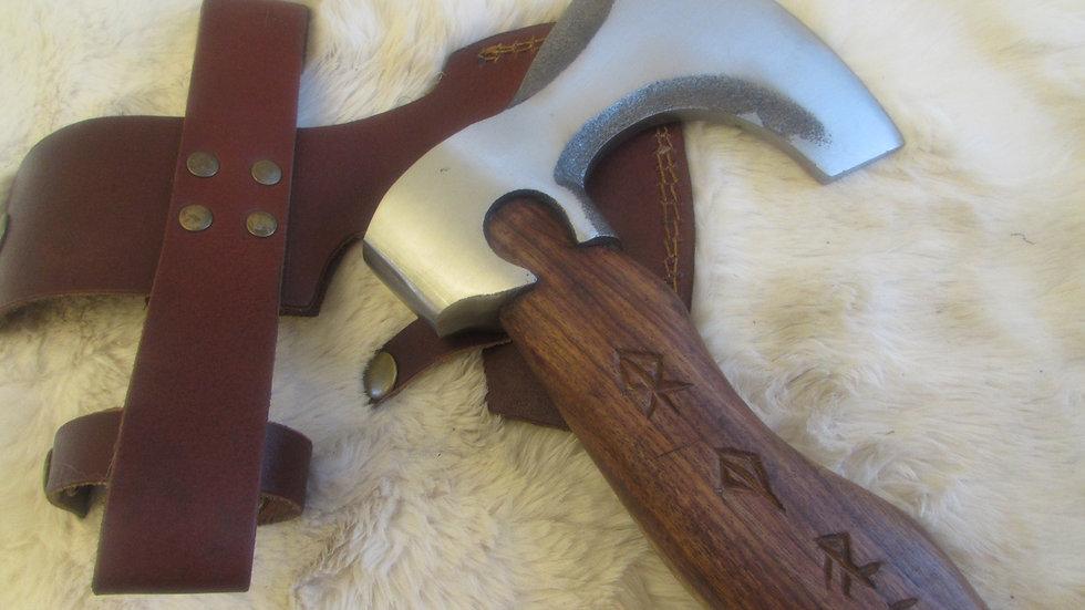 Brut de forge Viking axe