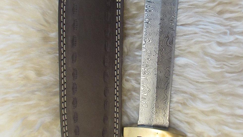 Roman Gladius Damascus steel blade