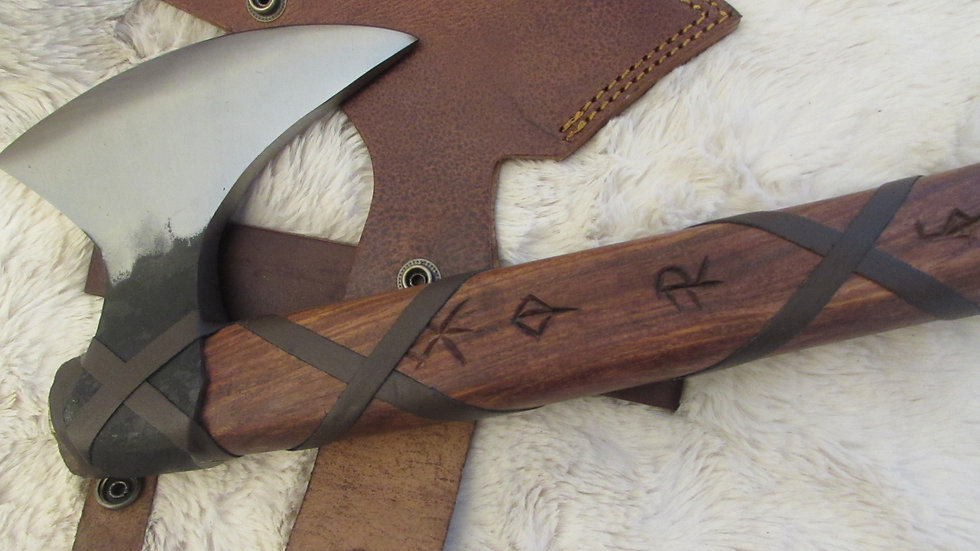 Viking axe (bind rune handle ) VK12