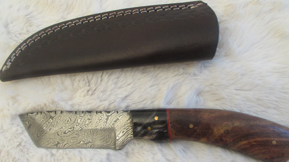Damascus steel medium size seax/knife (DK8)