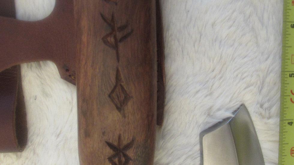 Bearded Viking Axe (bind rune handle