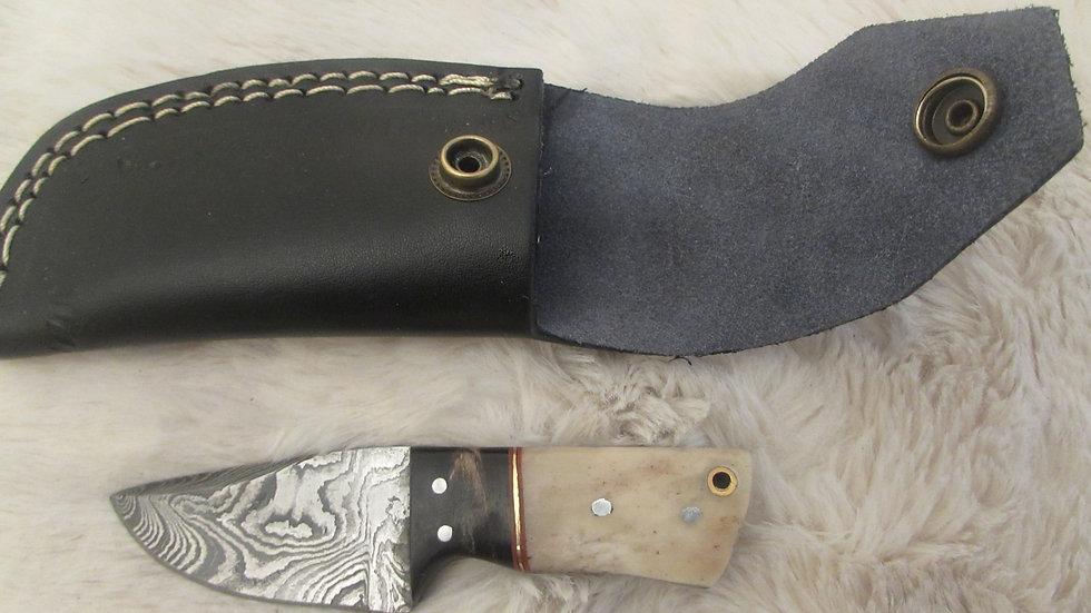 Damascus steel small size knife (DAS4) sale