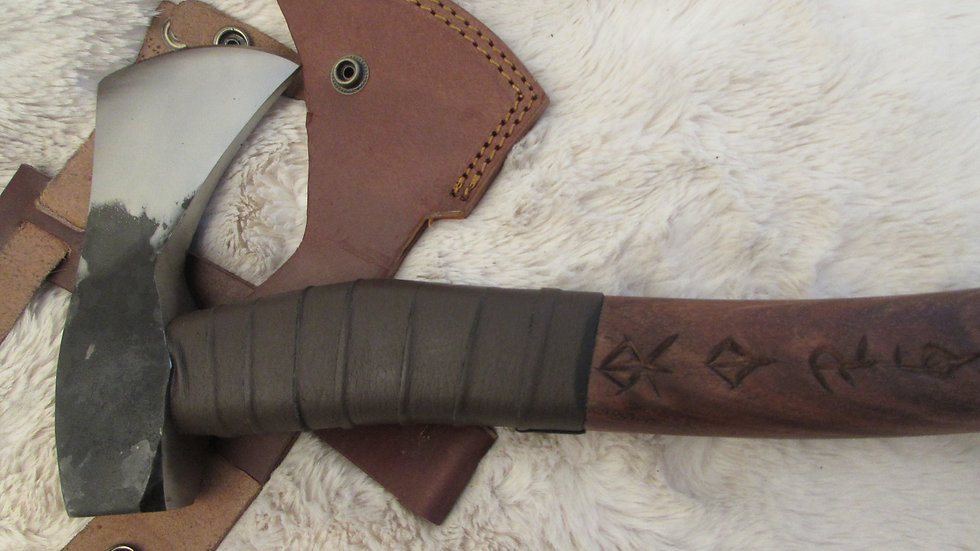 Viking axe (bind rune handle ) VK11