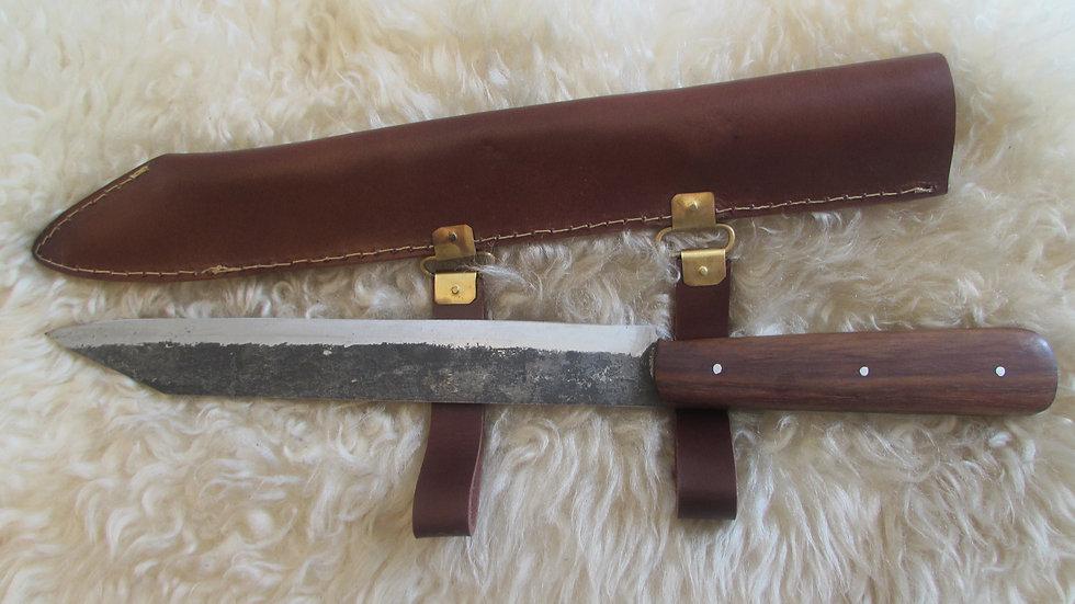Viking brut de forge long seax