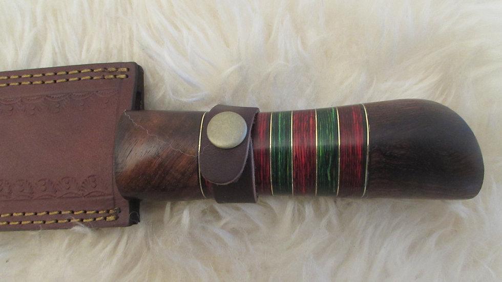 Large Viking rain pattern knife (B12)