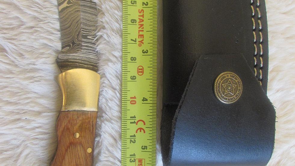 Damascus steel pocket knife (PK14)