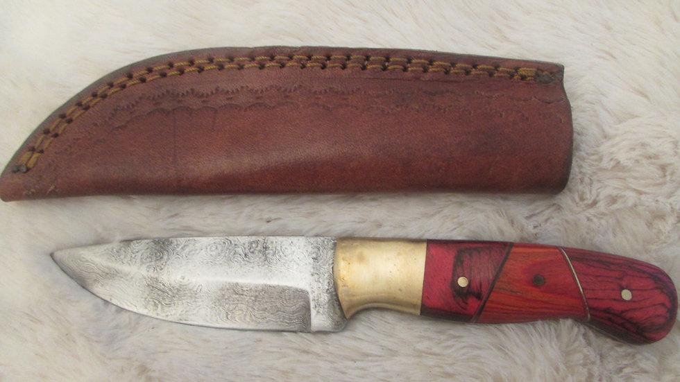 Damascus steel medium size knife (DAS2)sale