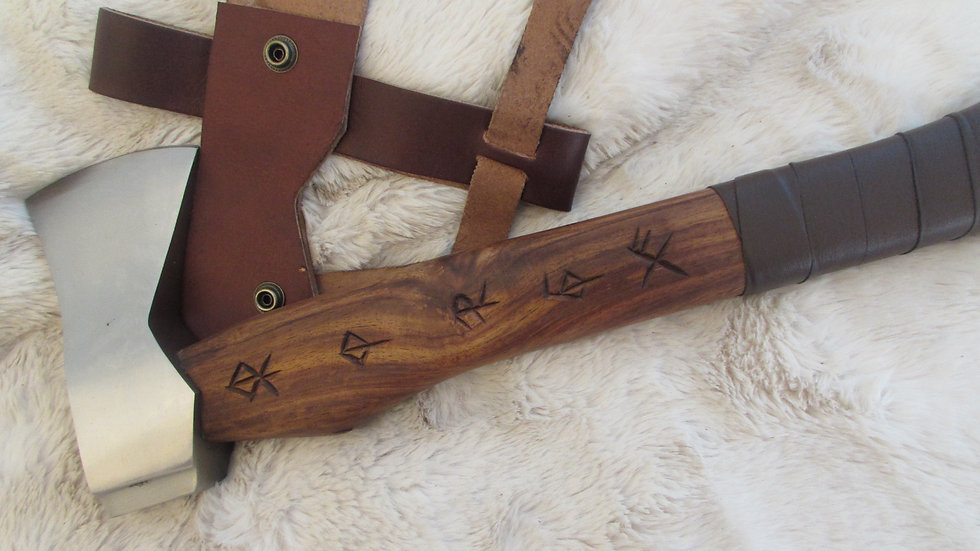 Viking axe (bind rune handle) VK8