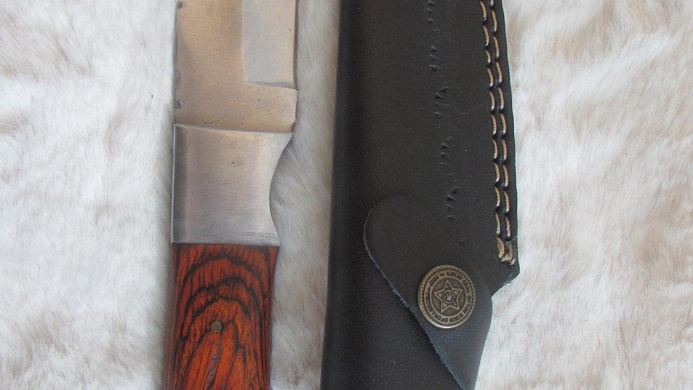 Carbon steel field / tracker knife (FK40)