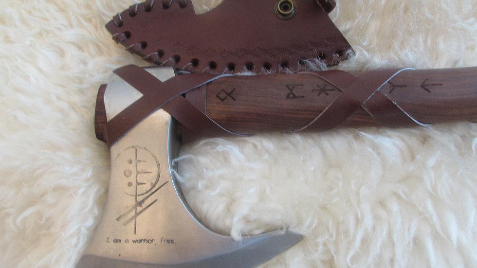I am a warrior free ! Viking axe