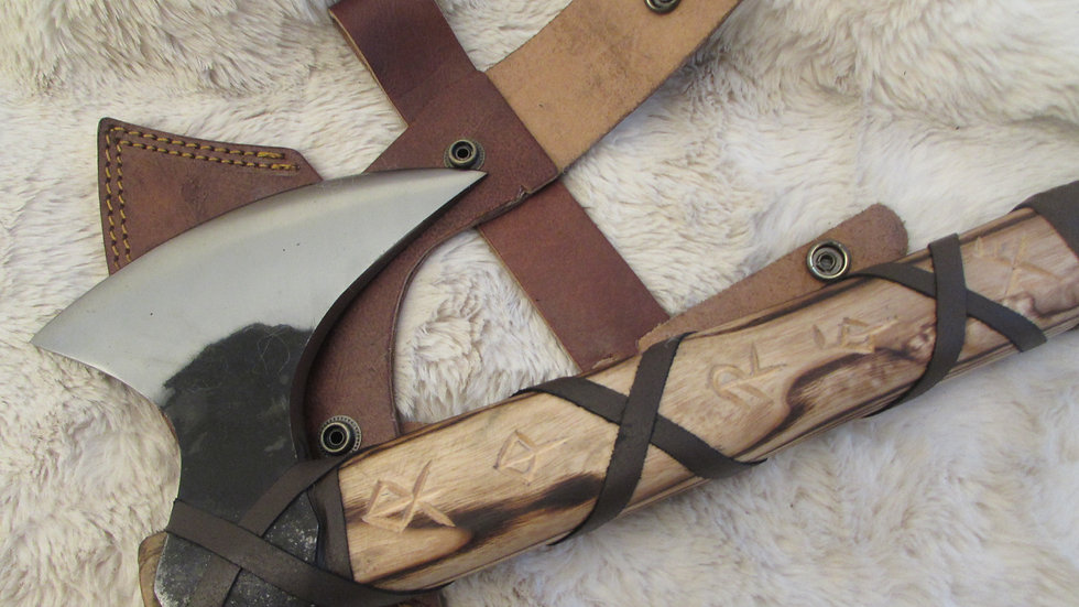 Viking axe (bind rune handle ) VK13