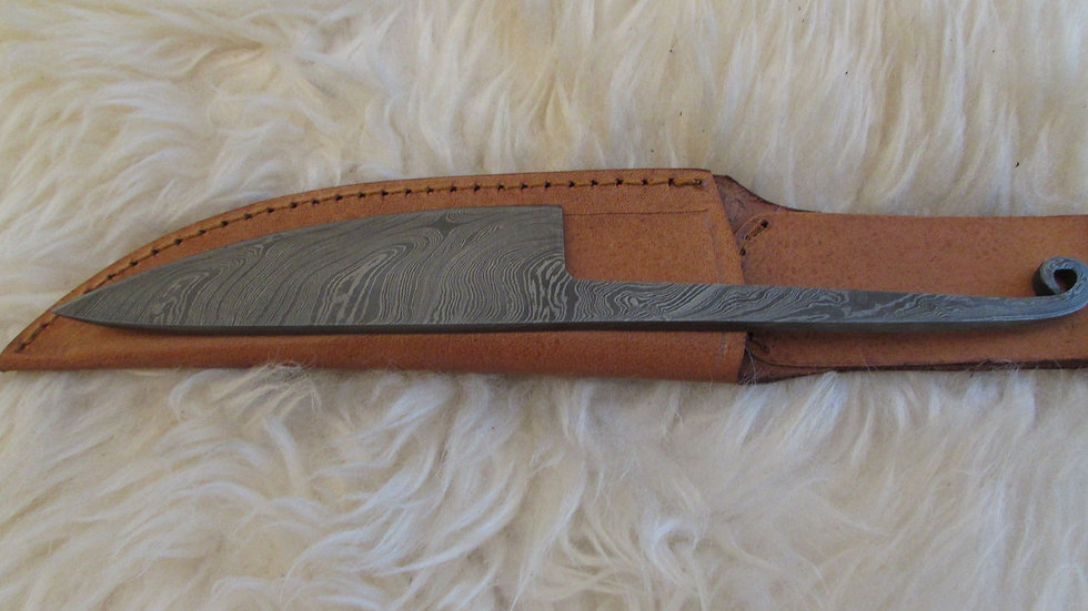 Viking / Celtic / Roman Damascus steel knife (06)