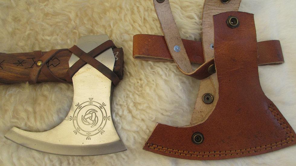 Horns of Odin Viking axe