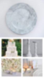 marble theme wedding london