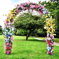 floral wedding arch to hire in London